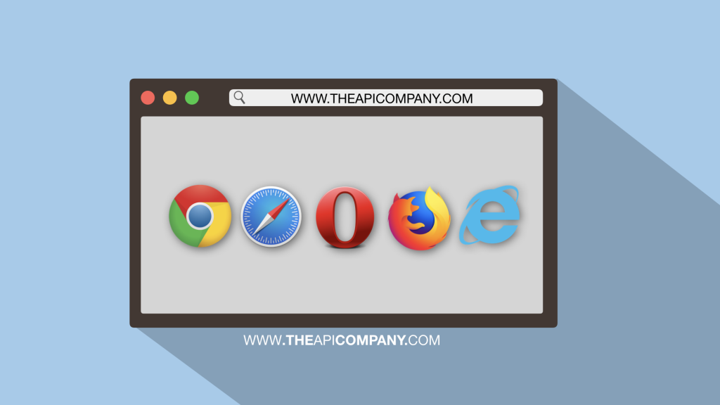 screen with overview of internet browsers