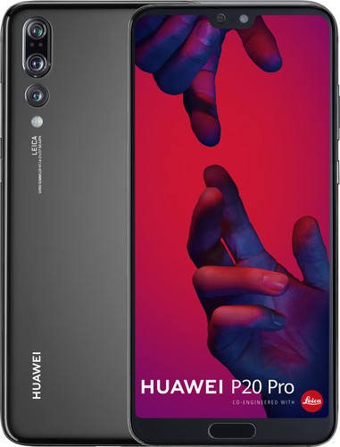 Huawei P20 Pro front and back
