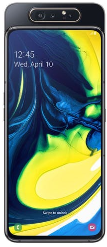 Samsung Galaxy A80 with Camera